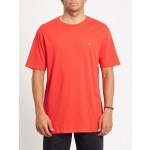 Volcom Stone blanks fiery red 2021 camiseta
