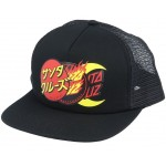 Santa Cruz Dot group black gorra