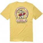Vissla Offshore Stoke organic gold coral 2022 camiseta