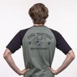Hydroponic Pink Logo green black 2021 camiseta