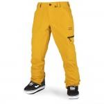Volcom Stretch gore-tex resin gold 2021 pantalón de snowboard