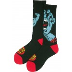 Santa Cruz Screaming hand black calcetines