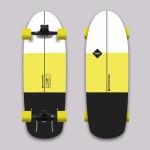 Hydroponic Hav surfboard surfskate completo