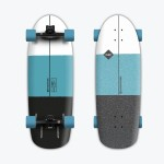 Hydroponic Hav 30'' turquesa Surfskate completo