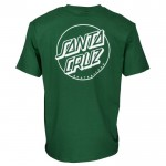 Santa Cruz Opus dot stripe green 2021 camiseta