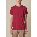 Globe Horizon striped rhubarb 2022 camiseta