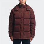 Globe Ignite puffer oxblood 2021 abrigo
