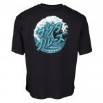 Santa Cruz Japanese Wave Dot black 2022 camiseta