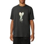 Globe Dead kooks flame heart black 2020 camiseta