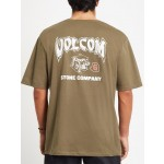 Volcom Kittykat military 2021 camiseta