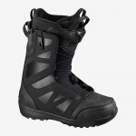 Salomon Launch Black Asphalt 2021 Botas de snowboard