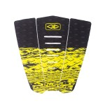 Ocean and Earth Blazed tail 3 piece lime pad de surf