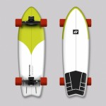 Hydroponic Surf Lima Surfskate completo