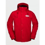Volcom Arthur longo gore-tex red 2021 chaqueta de snowboard