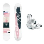 Salomon Lotus + Salomon Spell Pack Snowboard mujer