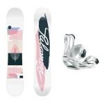 salomon Lotus+Spell 2014 pack de snowboard de mujer