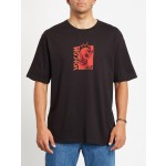 Volcom Midfright rlx black 2021 camiseta