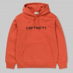 Carhartt Sweat persimmon black 2019 sudadera