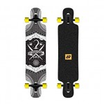 "Hydroponic DT 3.0 39"" pirate  longboard completo"
