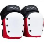 Pro-tec Street Knee pads red white black Talla M Rodilleras de skateboard