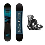 Salomon pulse + Salomon Rhythm 2021 Pack de snowboard
