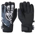 686 Ruckus pipe goblin blue skull 2021 guantes de snowboard