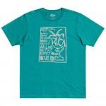 Rvca Vibes turquoise 2021 camiseta