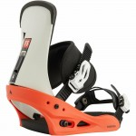 Burton Freestyle red/white/black 2021 Fijaciones de snowboard