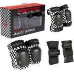 Protec Street gear Junior 3 pack checker protecciones