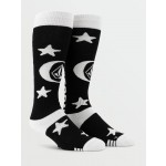 Volcom Synth black 2021 calcetines de snowboard