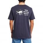 Volcom Scentsative navy 2021 camiseta