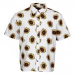 Santa Cruz Sunflower white 2021 camisa