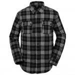 Volcom Sherpa flannel black 2021 camisa