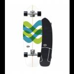 "Carver Triton Signal 31"" CX wide raw surfskate Completo"