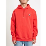 Volcom Single stone pullover fiery red 2021 sudadera