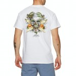 Rietveld Surf Skull Classic white 2021 camiseta