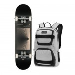 "Globe G1 Line Form Boxed black 7.75"" Skate completo"
