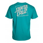 Santa Cruz Sc Squared Lake blue 2021 camiseta