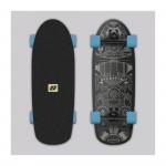 Hydroponic Surfskate marine 2.0 Black Matte DIP Surfskate completo