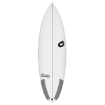 Torq Thruster tec 6'3'' White Tabla de surf