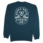 Vissla Stoke Company eco fleece midnight 2021 sudadera