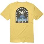 Vissla Toasty Coast gold coral 2021 camiseta