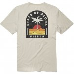 Vissla Toasty Coast bone 2021 camiseta