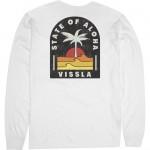 Vissla Toasty Coast vintage white 2021 camiseta de manga larga