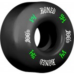 Bones 100´s #12 V4 54mm black Ruedas de skateboard