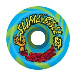 Santa Cruz Vomits swirl 60mm 97A blue green Ruedas de skateboard