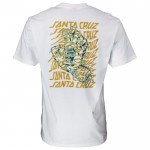 Santa Cruz Vortex Hand white 2020 camiseta