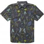 Vissla Weird weeds eco black 2020 camisa