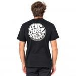 Rip Curl Wettie Esential black 2021 camiseta