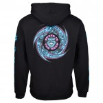 Santa Speed wheels faces black 2021 sudadera